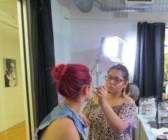 Tatiana Make up Artist - Tatiana al lavoro