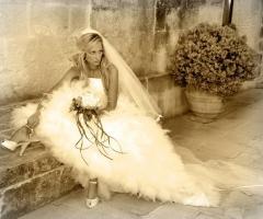 Servizio fotografico della sposa