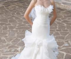 Angela Pascale Spose - Abito da sposa a sirena con roches