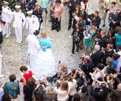 Castello di Cortanze - Il matrimonio in divisa