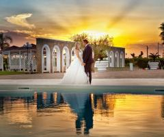 Parco della Laguna Lesina - Gli sposi al tramonto