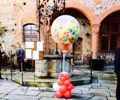 Bang Bang Wedding - Composizione con i palloncini all'aperto