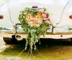 Grotta del Conte - L'auto degli sposi