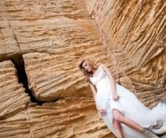 Foto fashion della sposa