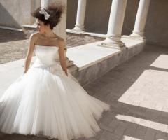 Abito da sposa stile ballerina