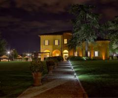 Villa Aretusi - Vista notturna della location