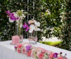 Mama Casa in Campagna - Allestimenti floreali per il matrimonio all'aperto