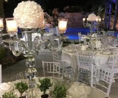 Bomboniere sui tavoli Nozze a Palermo