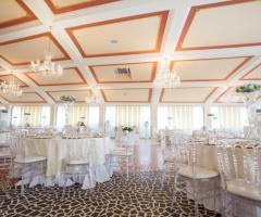 Tenuta Montenari - Sala cristallo per ricevimenti di nozze