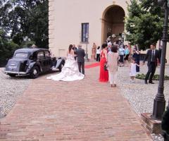 Castello di Cortanze - L'arrivo della sposa