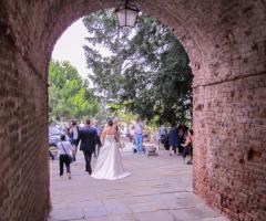 Castello di Cortanze - Le foto agli sposi