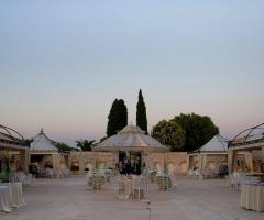 Masseria Cariello Nuovo - La location al tramonto