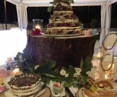 Grand Hotel Riviera - Dolci e frutta sotto il gazebo