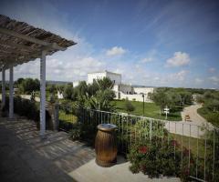 Casale del Murgese - La vista dalla terrazza