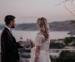 Cala dei Balcani - Il brindisi degli sposi