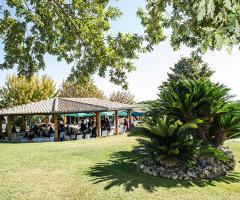 Villa Valente - Il rinfresco all'aperto