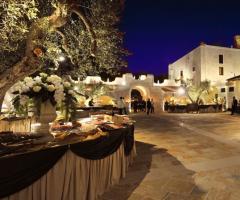 Villa Menelao - Buffet all'aperto