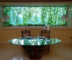 Villa Torrequadra - Tavolo della sala