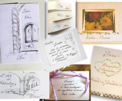 Partecipazioni e Coordinati di Tonia D'Adderio - Tanti stili originali da scegliere