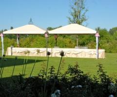 Villa Aretusi - Banchetto di matrimonio in giardino