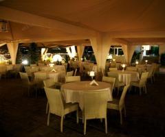 Villa Posillipo - Tavoli per gli invitati al matrimonio