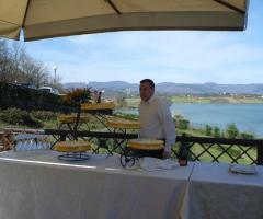 Borgo La Fratta - Torta nuziale con vista
