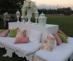 Luisa Mascolino Wedding Planner Sicilia - Un salotto al tramonto
