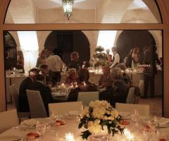 Masseria Traetta Exclusive - I tavoli e il buffet