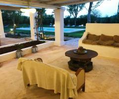 Masseria San Michele - L'angolo del salotto
