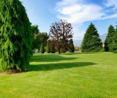 Il parco della villa