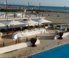 Castello Miramare - Buffet di matrimonio a bordo piscina