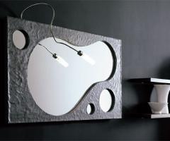 Desidea Arredamenti - Specchio bagno Goccia
