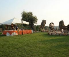 Esterno della location di matrimonio