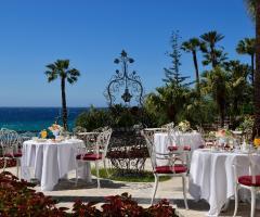 Royal Hotel Sanremo - Colazione in terrazza