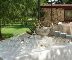 Tavolo del brindisi