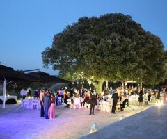 Masseria Torre di Nebbia - La festa di nozze di sera