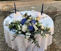 Oasi  Quattro Colonne - Il tavolo degli sposi
