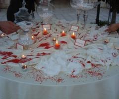 Tavolo dei confetti - Aspettando il sì Wedding Planner