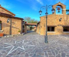 Villa Valente - La piazzetta