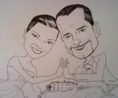 Caricaturista ritrattista per eventi
