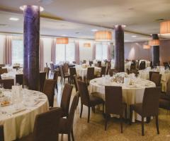 Ristorante Alla Veneziana - La sala ristorante interna