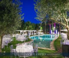 Il Trappetello - Il ricevimento di sera a bordo piscina