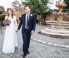 Villa Valente - L'arrivo degli sposi