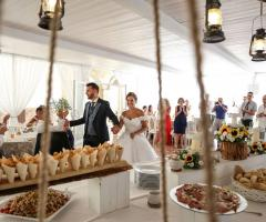 Antica Masseria Martuccio - L'arrivo degli sposi
