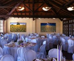 Ricevimento di matrimonio country chic