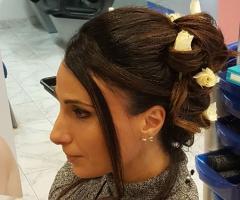 Rosa Laguardia Hair Style - Le fasi per acconciatura