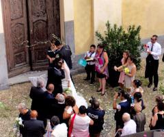 Castello di Cortanze - Il bacio degli sposi