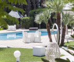Villa Demetra - Allestimento in piscina
