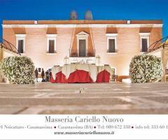 Masseria Cariello Nuovo - Dimora storica per il ricevimento di matrimonio a Bari