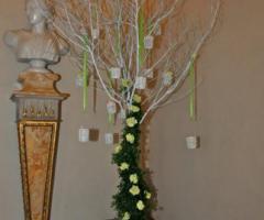 Grand Hotel Continental - Particolare tableau di matrimonio a forma di albero